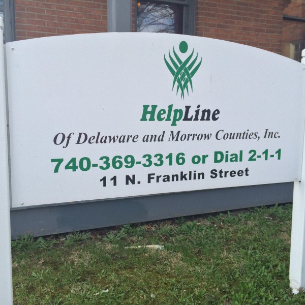 HelpLine Sign